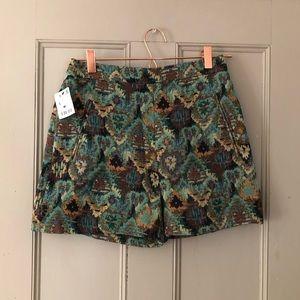 NWT Zara high rise shorts